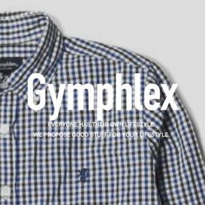 ジムフレックス / ギンガムチェック シャツ