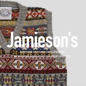 ジャミーソンズ / ニットベスト
