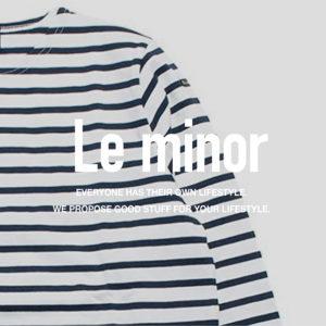 ルミノア / バスクシャツ