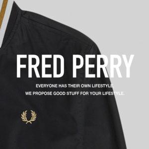 フレッドペリー / ボンバージャケット