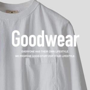 グッドウェア / ロングスリーブ Tシャツ
